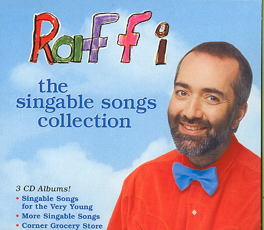SINGABLE SONGS COLLECTION BY RAFFI (CD)